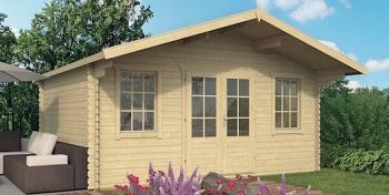 Viggo Log Cabin 5x3.8m
