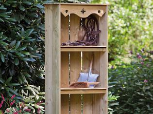 Garden Storage Shelves