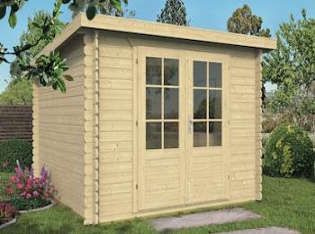 Jorgen Pent Log Cabin 2.9x2.9m