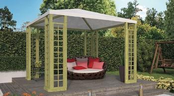 Wooden Pergola Pavilion