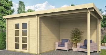 Hattem Modern Log Cabin 6x3m