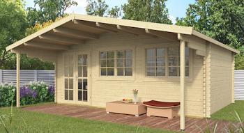 Gijs Log Cabin 5.95x4m