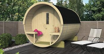 Sauna Barrel 300