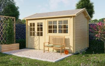 Aksel Log Cabin 4.0x3.0m