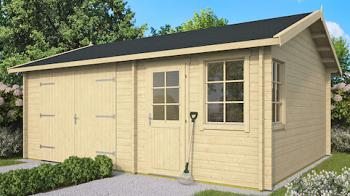 Log Garage Moa 6 x 5m