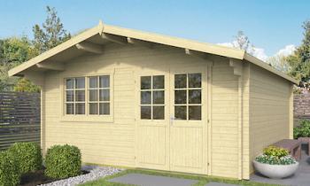 Rose Log Cabin 5x5m