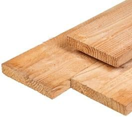Larch Timber Edge Boards - Unplaned