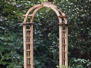 Round Trellis Garden Arch