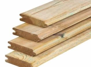 Tongue and Groove 28mm Timber