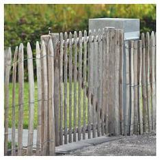 Chestnut Fence Gate