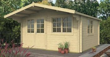 Inge Log Cabin 4.20 x 4.20m