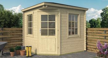 Jos Corner Log Cabin 2.5x2.5m