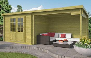 Freddy Log Cabin 5.98x2.5m