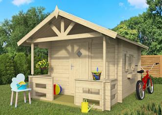 Mari Log Cabin Playhouse 2.35 x 3.10m