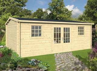 Dianne Log Cabin 5.78 x 4.50m