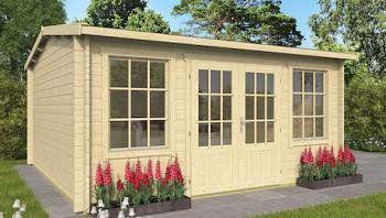 Meaghan Log Cabin 4.3 x 4.5m