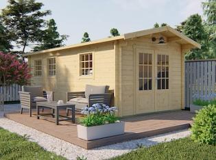 Rick Log Cabin 3.0 x 5.95m