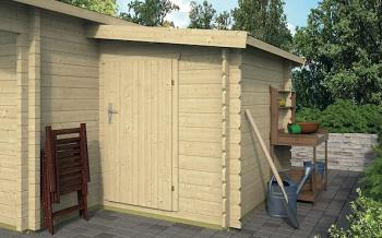 28mm Log Cabin Storage Annexe 1.6x2.2m suitable for any make of log cabin
