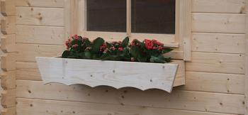 Log Cabin Planter