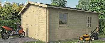 Rydell Log Cabin Garage