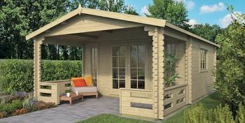 Frodo Log Cabin 4.3x4.3m