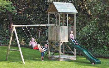 Alex Play Tower with Swing Arm