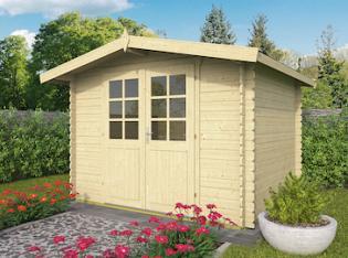 Britt Log Cabin 3x2.5m