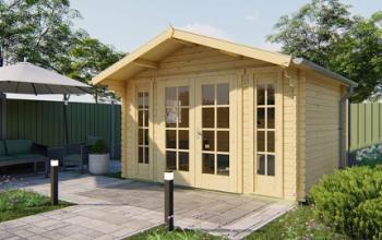 Max Log Cabin 3.8x2.9m