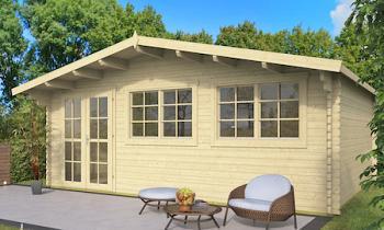 Truus Log Cabin 5.95x5m