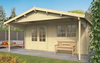 Klaas Log Cabin 5x4m