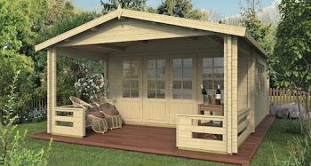 Bolton Log Cabin 4.4 x 3.4m