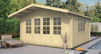 Derby Log Cabin 4.4 x 4.4m