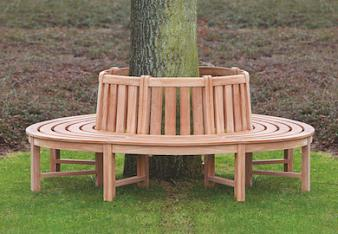 Hardwood quality Tree Seat