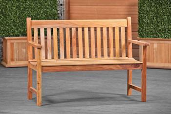 Garden Bench Hardwood Nice