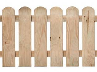 Border Picket Fence