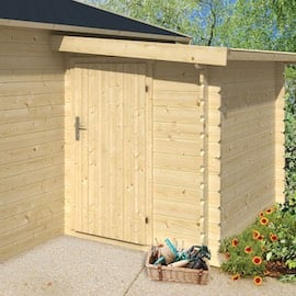 28mm Log Cabin Storage Annexe 1.6x2.2m