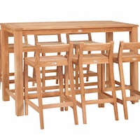 Teak Bar Set- Buckingham