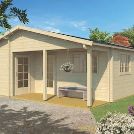 Ardee 70mm Log Cabin 8.17 x 7.00m