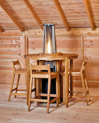 Hardwood Bar Set- Arden