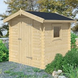 Argo Log Cabin 2x2m