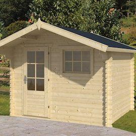 Bjorn Log Cabin 3x2.6m