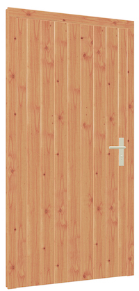 Larch Braced Doors for Garden Buildings