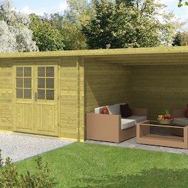 Chappo Log Cabin 5.98x3.0m