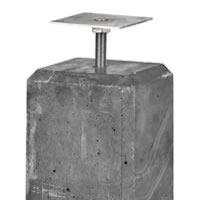 Concrete Foundation Post