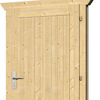 Doors for Log Cabins up to 45mm RUMMAGE