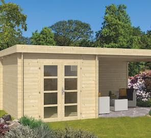 Diederick Modern Log Cabin 6.25 x 3.75m