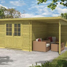 Dora Log Cabin 5x3m