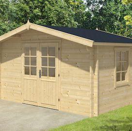 Dyre Log Cabin 4m x 3m