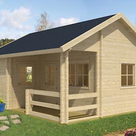 Edelweiss Log Cabin 5.1x6.0m