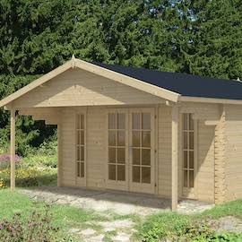 Emiel Log Cabin 5.0x5.0m
